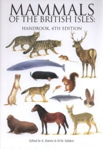 The best books on Bats - Mammals of the British Isles handbook, 4th Edition by S Harris & D Yalden, eds.