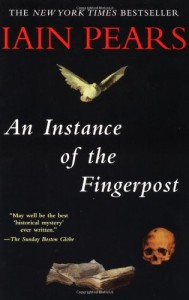 The Best Historical Novels - An Instance of the Fingerpost by Iain Pears