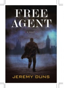 The best books on Forgotten Cold War Thrillers - Free Agent by Jeremy Duns