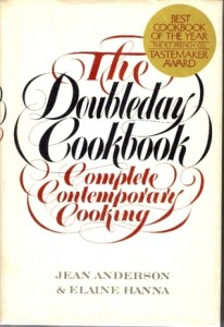 Wonderful Cookbooks - The Doubleday Cookbook by Jean Anderson