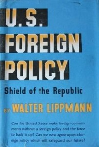 US Foreign Policy by Walter Lippmann