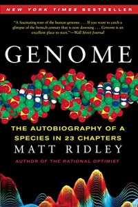 The best books on Technology and Optimism - Genome by Matt Ridley