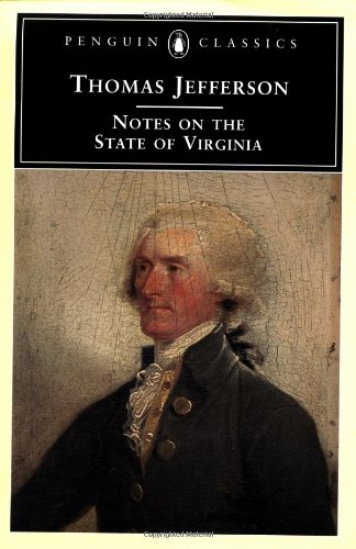 The best books on Horticulture - Notes on the State of Virginia by Thomas Jefferson