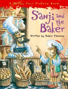 Best Economics Books for Kids - Sanji and the Baker by Robin Tzannes