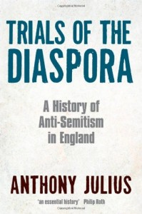 The best books on Censorship - Trials of the Diaspora by Anthony Julius