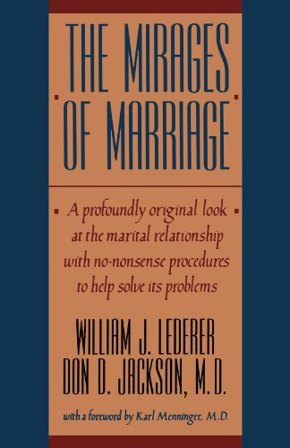 The best books on Relationship Therapy - The Mirages of Marriage by William Lederer and Don Jackson