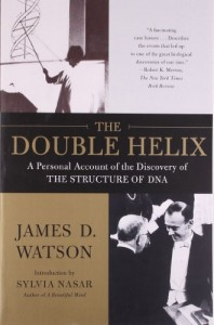 The best books on Popular Science - The Double Helix by James Watson