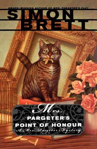 Simon Brett recommends the best Whodunnits - Mrs Pargeter's Point of Honour by Simon Brett
