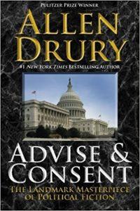 The Best Anti-Communist Thrillers - Advise and Consent by Allen Drury