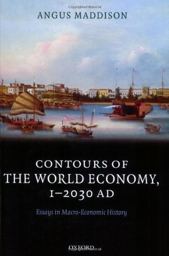 The best books on Economic Inequality Between Nations and Peoples - Contours of the World Economy, 1-2030AD by Angus Maddison