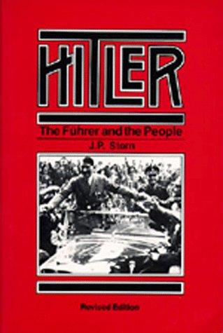 The best books on Hitler - Hitler by J P Stern