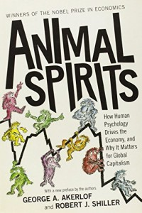 The best books on Capitalism and Human Nature - Animal Spirits George Akerlof and Robert Shiller