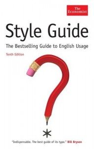 The best books on Journalism - The Economist Style Guide by The Economist