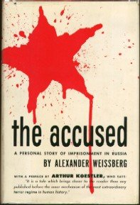 The best books on The European Civil War - The Accused (Hexensabbat) by Alex Weissberg-Cybulski