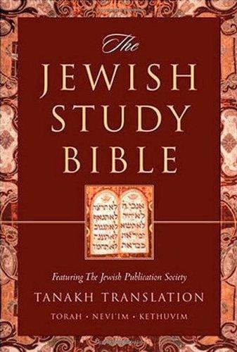 The Jewish Study Bible (TANAKH Translation) by Adele Berlin, Marc Zvi Brettler, Michael Fishbane