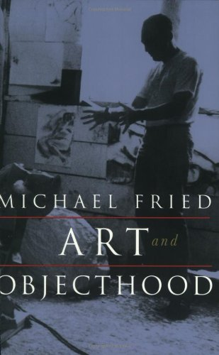 Michael Fried recommends the best book on the Philosophical Stakes of Art - Art and Objecthood by Michael Fried