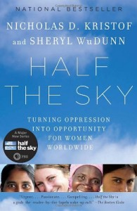 The best books on Changing the World for Good - Half the Sky by Nicholas Kristof and Sheryl WuDunn