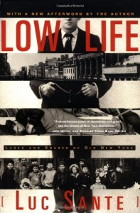 The best books on New York City - Low Life by Luc Sante