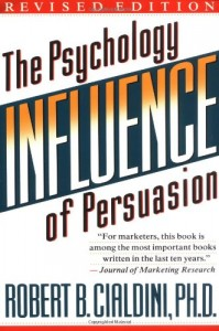 The best books on Behavioural Economics - Influence by Robert B Cialdini