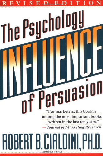 The best books on Negotiating and the FBI - Influence by Robert B Cialdini