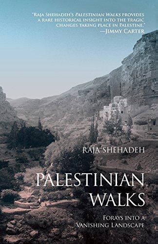The best books on Palestine - Palestinian Walks by Raja Shehadeh