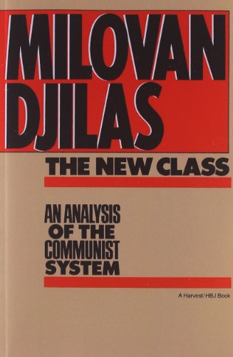 The best books on Communism - The New Class by Milovan Djilas