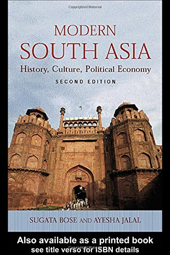 The best books on India - Modern South Asia by Sugata Bose and Ayesha Jalal