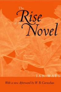 The best books on Censorship - The Rise of the Novel by Ian Watt
