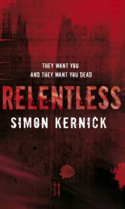 The best books on Thrillers - Relentless by Simon Kernick