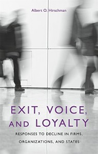 The best books on Labour Unions - Exit, Voice, and Loyalty by Albert Hirschman