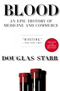 The best books on The Pioneers of Criminology - Blood by Douglas Starr
