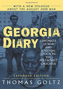 The best books on Georgia and the Caucasus - Georgia Diary by Thomas Goltz