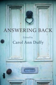 The best books on Poetry - Answering Back by Carol Ann Duffy (editor)