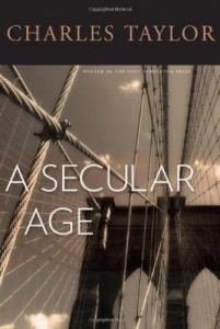 The best books on Religion versus Secularism in History - A Secular Age by Charles Taylor