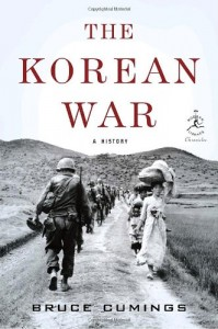 The best books on The Korean War - The Korean War: A History by Bruce Cumings