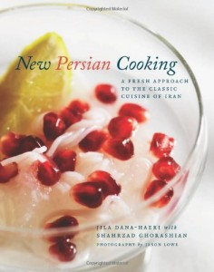 The best books on Persian Cookery - New Persian Cooking by Jila Dana-Haeri and Shahrzad Ghorashian