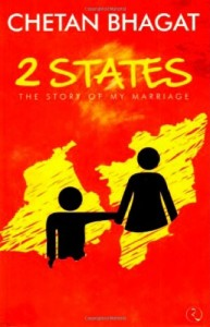 The best books on India - 2 States by Chetan Bhagat