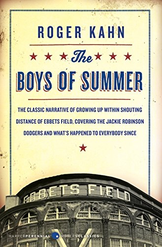 The best books on Baseball - The Boys of Summer by Roger Kahn