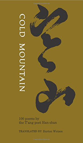 The best books on Classical Chinese Poetry - Cold Mountain by Burton Watson