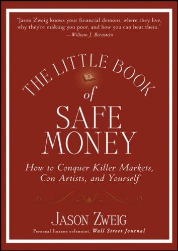 The best books on Investing - The Little Book of Safe Money by Jason Zweig