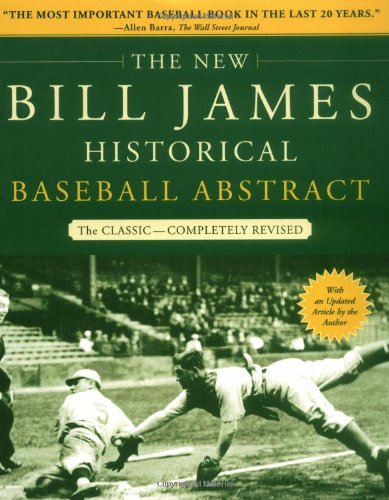 The best books on Baseball - The Bill James Historical Baseball Abstract by Bill James