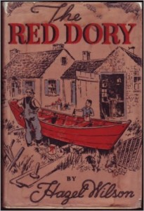 Audrey Penn recommends her Favourite Teenage Books - Red Dory by Hazel Hutchins Wilson