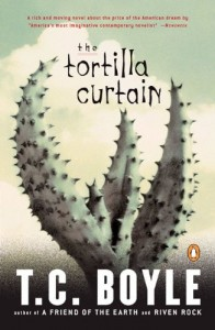 The best books on Man and Nature - Tortilla Curtain by TC Boyle