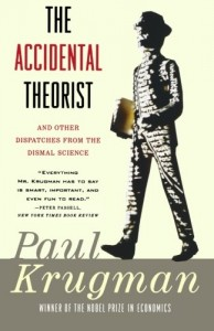 Books that Inspired a Liberal Economist - The Accidental Theorist by Paul Krugman