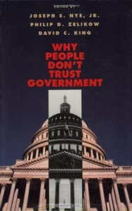 The best books on Global Power - Why People Don't Trust Government by Joseph Nye & Joseph S. Nye