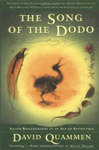 The best books on Wilding - The Song of the Dodo by David Quammen