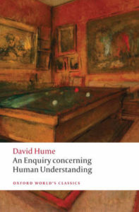 Books that Inspired a Liberal Economist - An Enquiry Concerning Human Understanding by David Hume