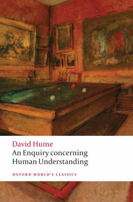 The best books on David Hume - An Enquiry Concerning Human Understanding by David Hume