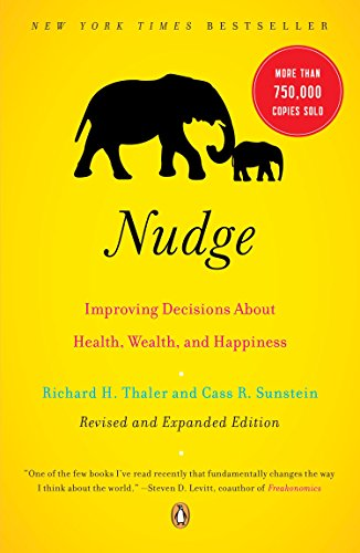 The best books on Capitalism and Human Nature - Nudge by Cass Sunstein & Richard Thaler