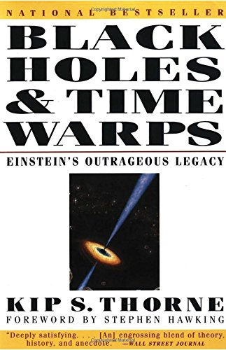 The best books on Cosmology - Black Holes and Time Warps by Kip S Thorne